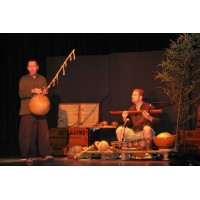 Bambou et Calebasse font de la musique