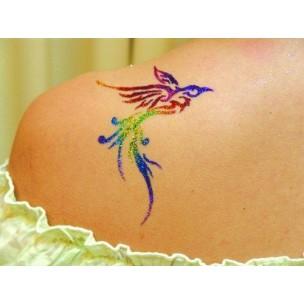 Maquillage et tatouage temporaire